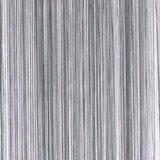 Frusqo draadjesgordijn antraciet grijs 90x200cm_