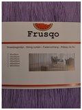 Frusqo draadjesgordijn lavendel 90x200cm_