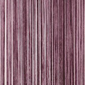 Frusqo draadjesgordijn aubergine 90x200cm