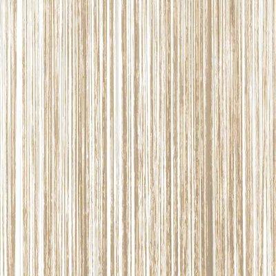 Frusqo draadjesgordijn beige-bruin 90x200cm