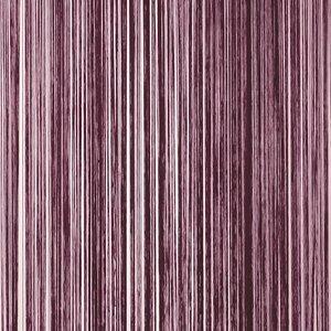 Frusqo draadjesgordijn aubergine 100x250cm