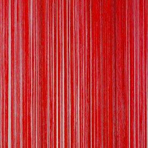 Frusqo draadjesgordijn rood 100x250cm