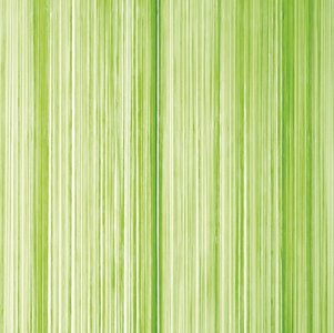 Frusqo draadjesgordijn lime 100x250cm