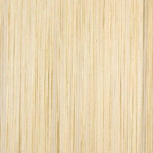 Frusqo draadjesgordijn beige 100x250cm